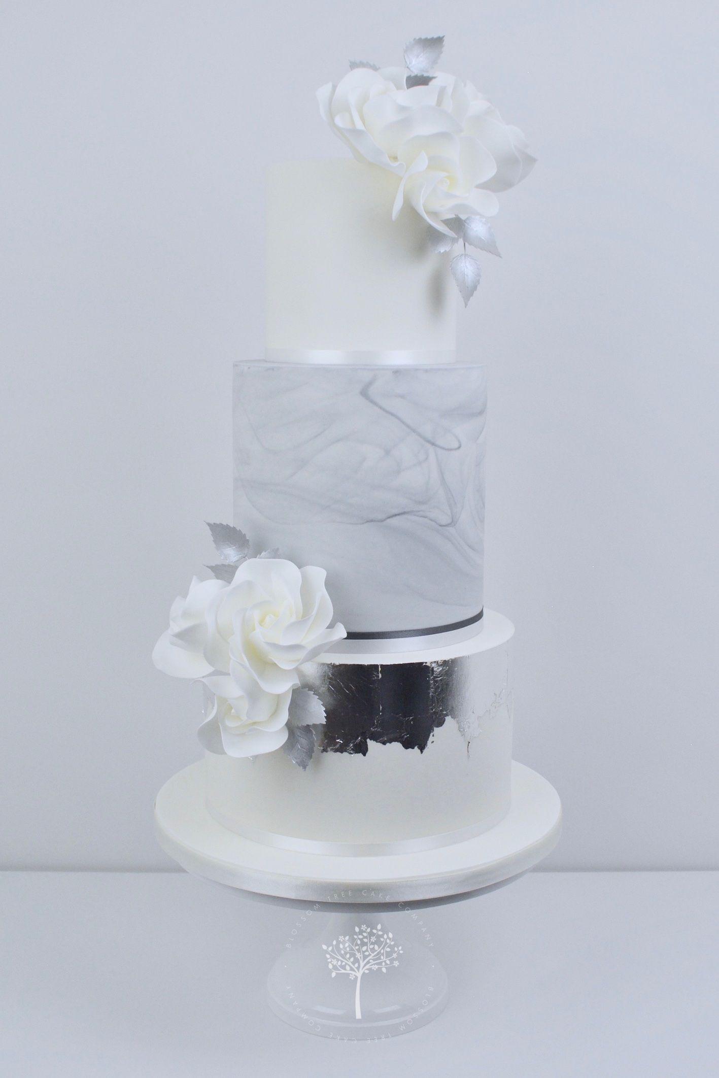 Attractive Wedding Cake Tree Pattern - Blue Wedding Color Ideas ...