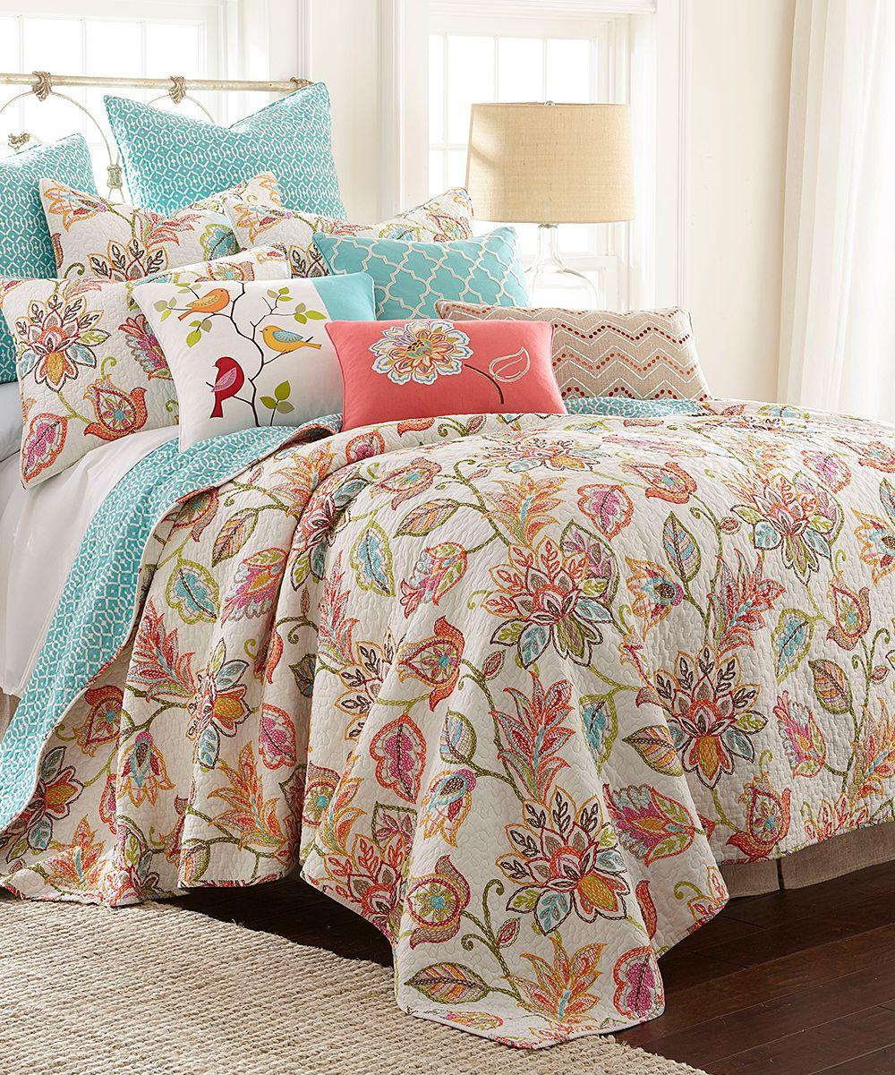 Waverly Garden Glitz Kng 3 Pc Bdsprd Set Bed Spreads Waverly