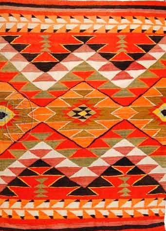 Navajo Blanket C 1890 Everything Southwestern