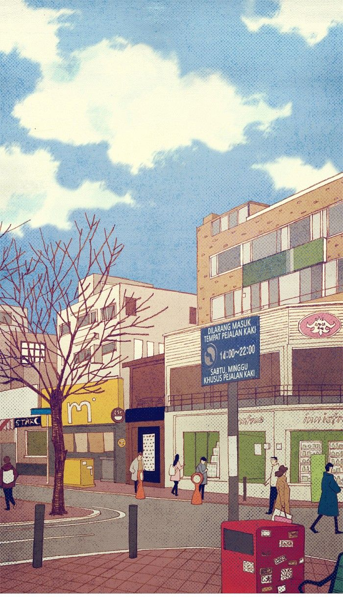 Spirit Fingers Webtoon Ilustrasi Ilustrasi Karakter