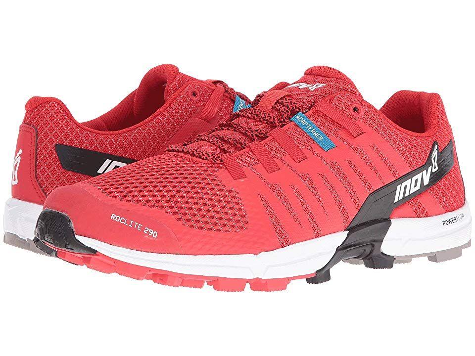 Inov-8 roclite 290 shoes red-black