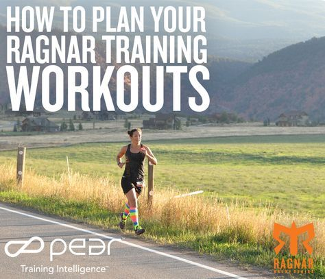 how to plan your ragnar training workouts  blognar