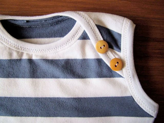 Baby Onesie, Binding, and Sewing with KNITS: GUEST blogger, Omi Creates | MADE
