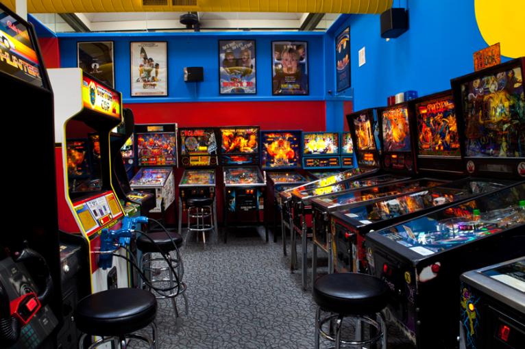 Arcades Near Me Arcade Pinball Modern Console
