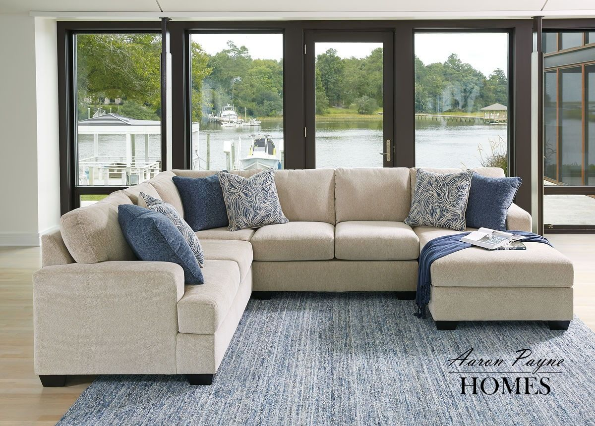 Pin By Aaron Payne Homes On Living Room In 2020 Ashley Furniture Sectional Sofa Furniture