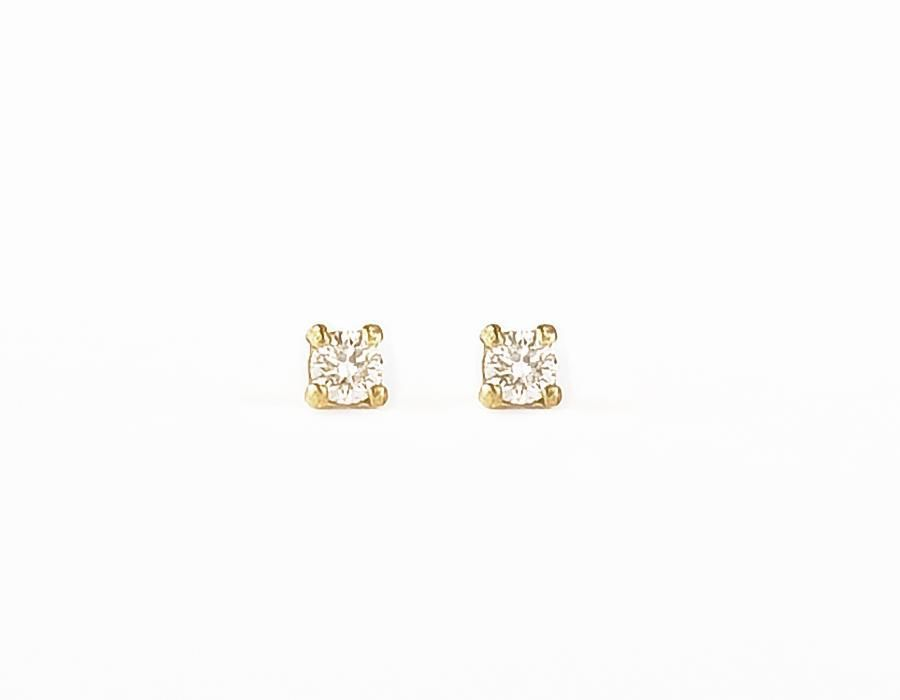 earrings basket with dp solitaire com bxxl round diamond back set gold stud screw amazon white