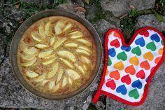 Gâteau à la farine de blé noir et aux pommes, pour la recette, cliquez sur l'image ! #wbzh