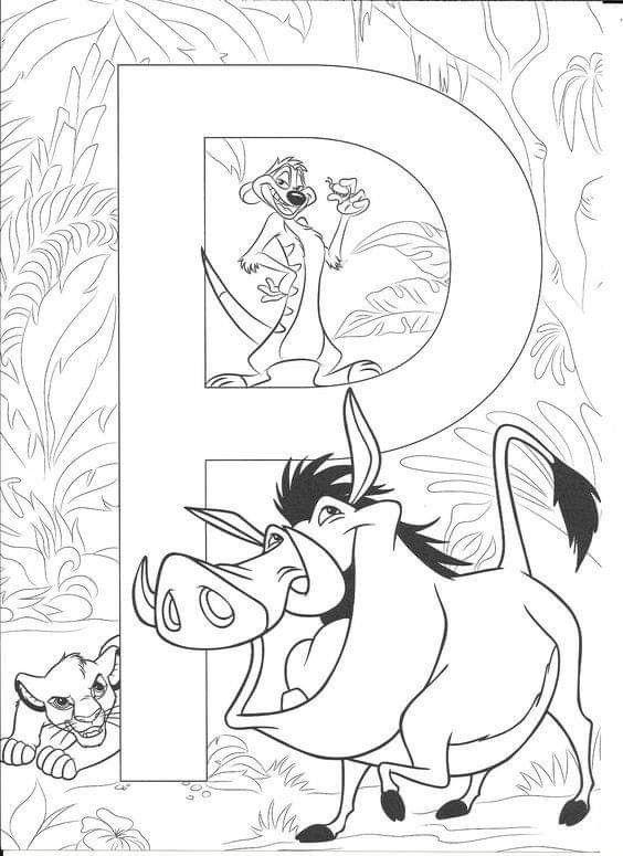 Pin By Jennifer Lummus On Prace Plastyczne Przedszkole Disney Coloring Pages Disney Alphabet Disney Coloring Sheets