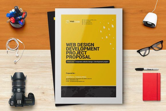 Web Proposal Design  Development by ContestDesign on