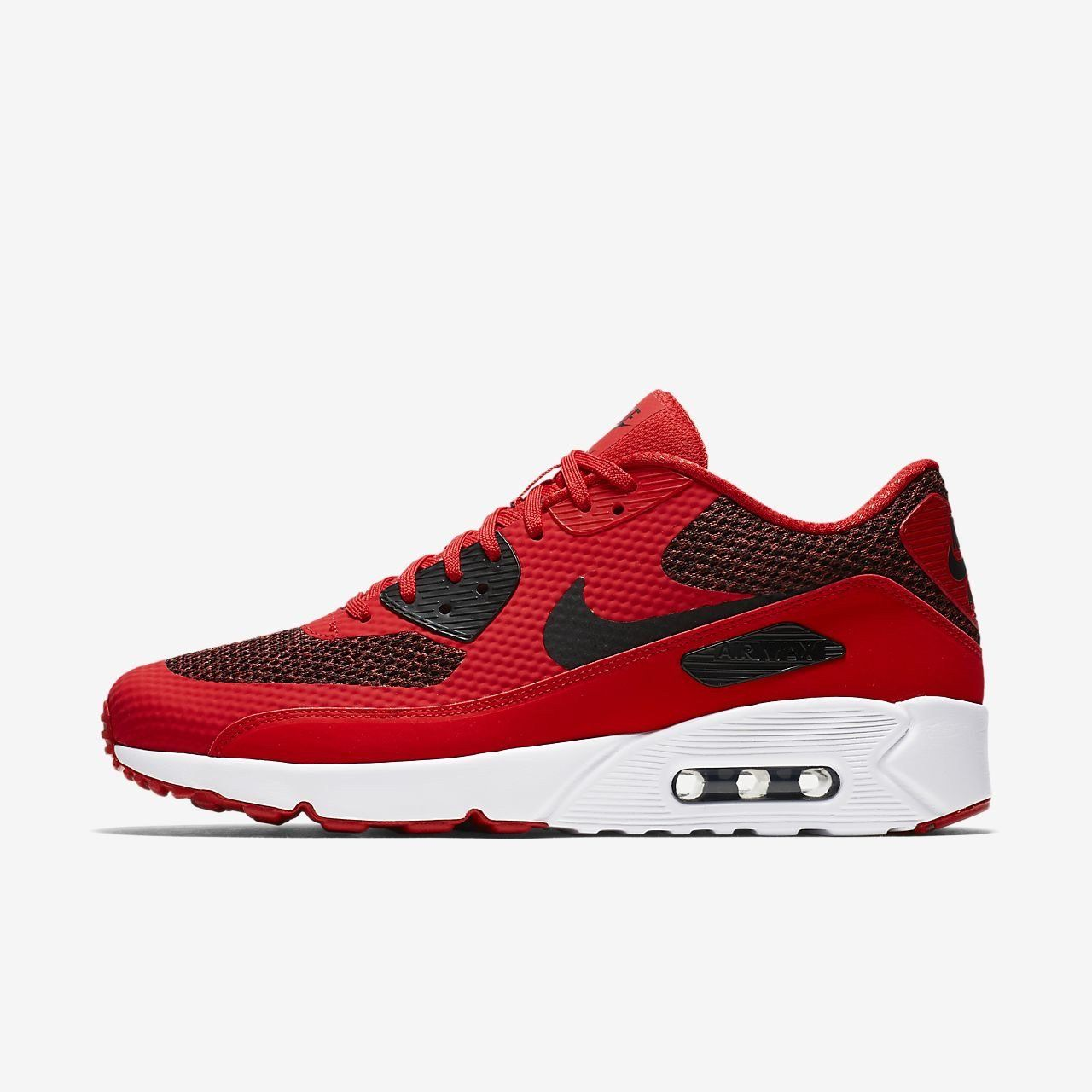 b4b9f98986 Nike Air Max 90 Ultra 2.0 Essential University Red in 2019 | Shoes ...