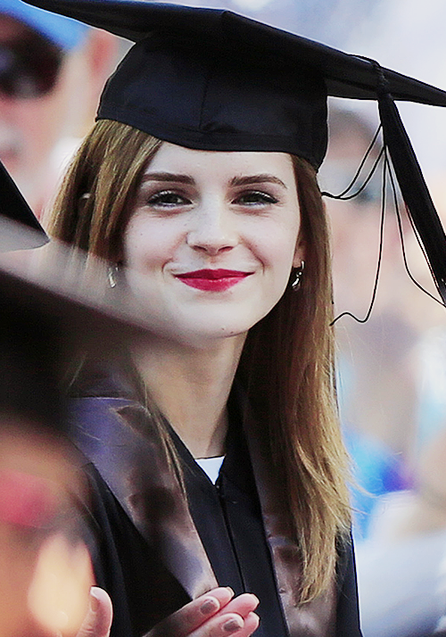 Actress and activist Emma Watson is a Brown University