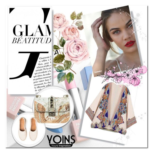 """""""Bez naslova #120"""" by kristina779 ❤ liked on Polyvore featuring Valentino, Sephora Collection and Karlsson"""