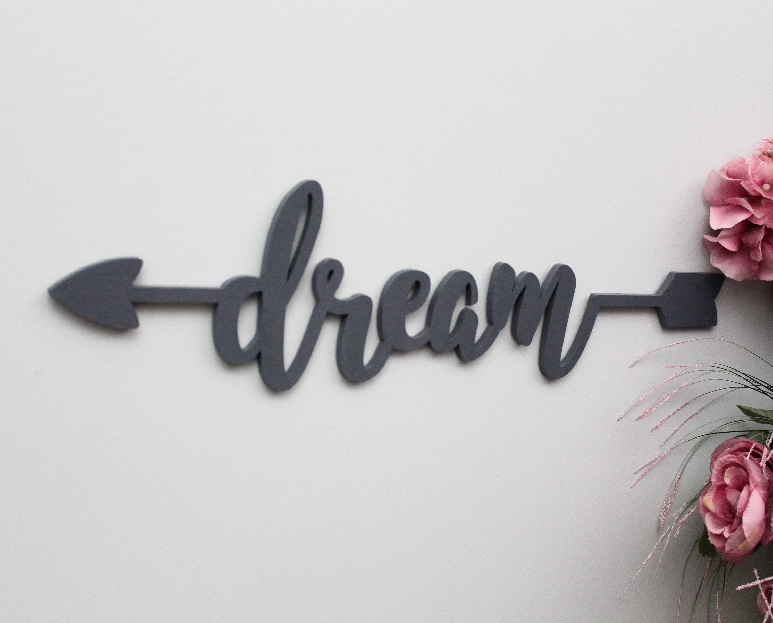 Marvelous Dream Sign, Dream Wooden Arrow Sign, Dream Wall Decor, Wood Sign Art, Wood  Dream, Office Decor, ...