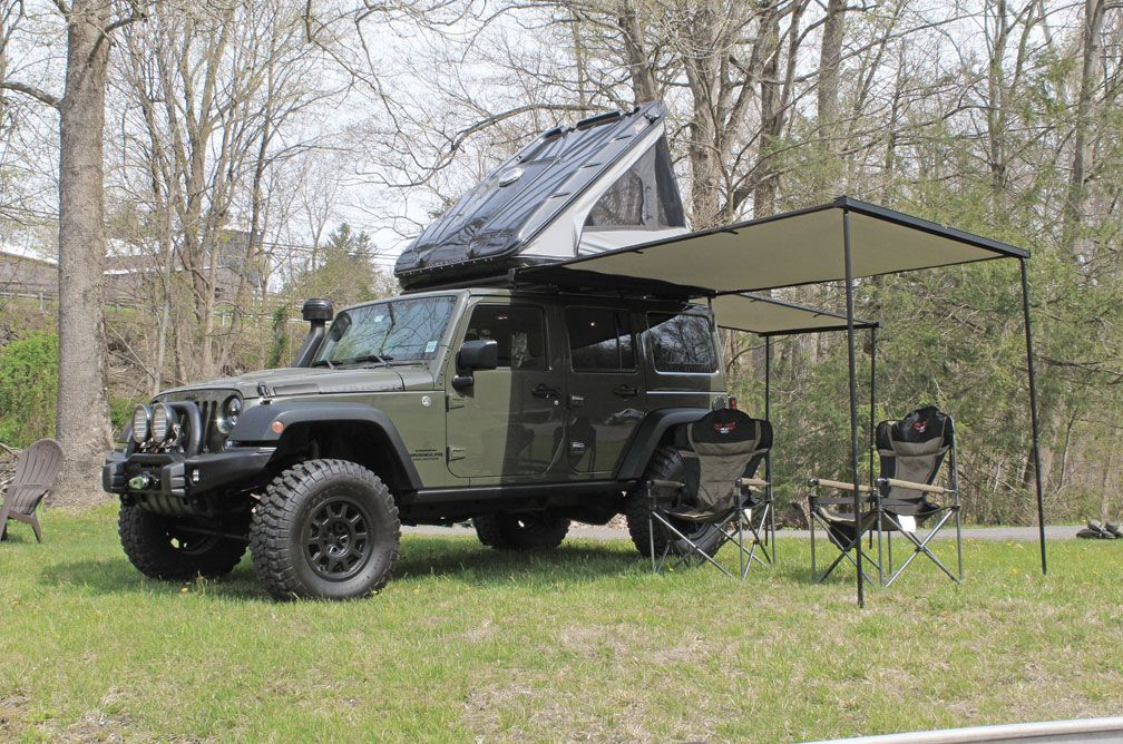 James Baroud Discovery Extreme Rooftop Tent Land Rover