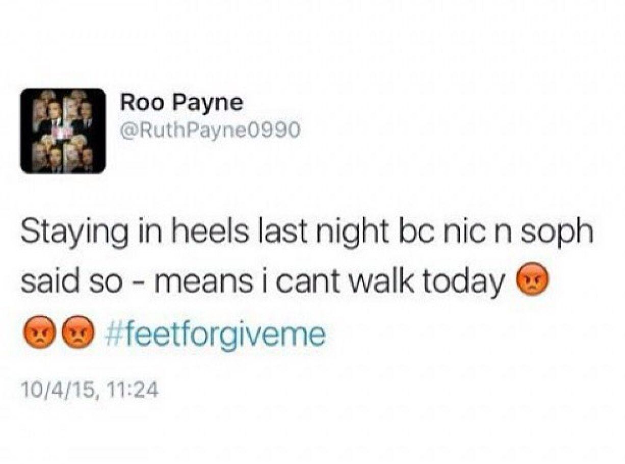 Roo tweeted