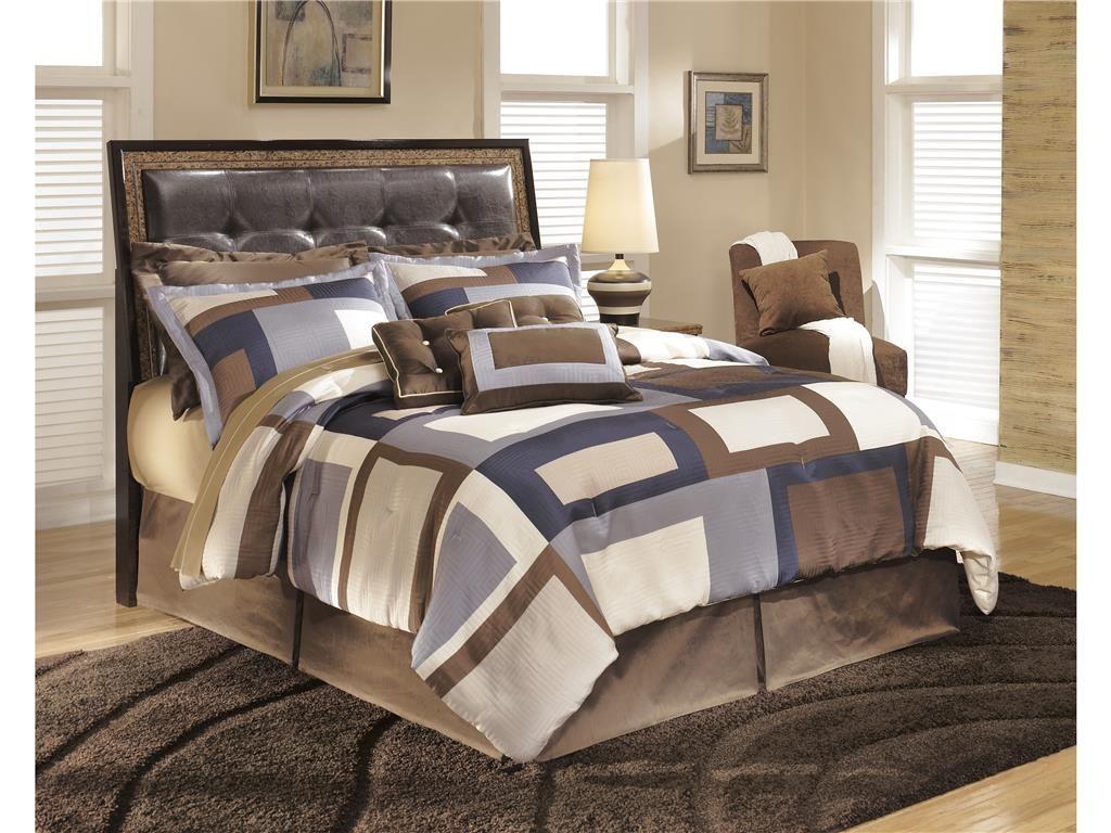 Signature Design Bedroom King Upholstered Headboard B285-58 - Americana Furniture - Tucker, GA