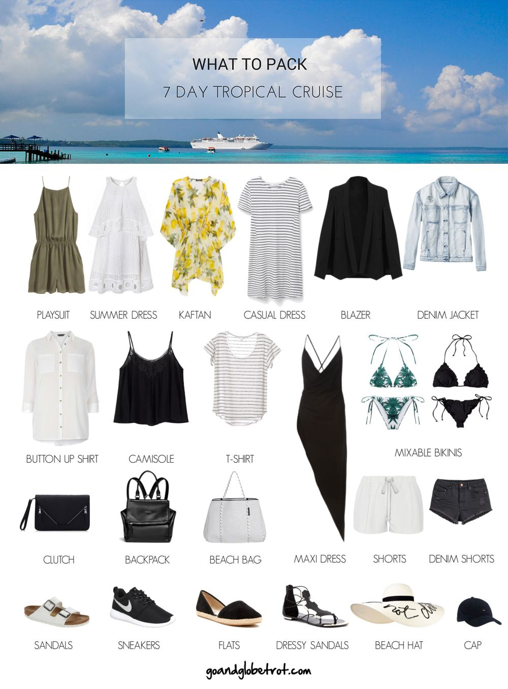 8de37489bf Use this style guide to pack better for your cruise, pack less for your  cruise and still dress well for your cruise!