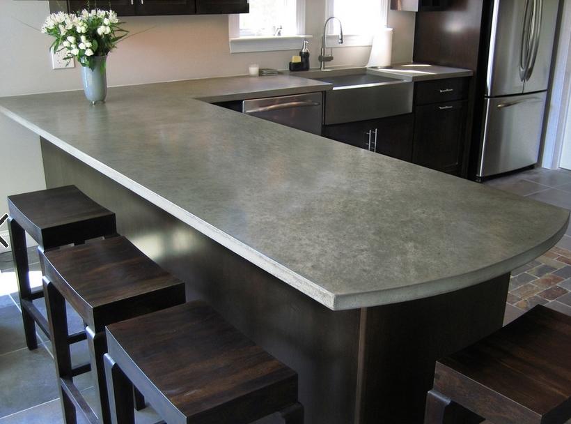 Smooth Concrete Countertop Pros And Cons