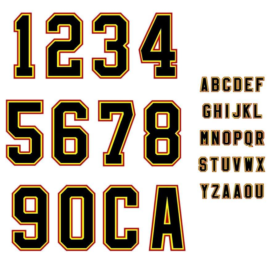 Sports Number  Letter Template  Baseball    Letter