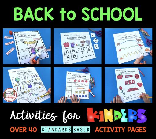 Back To School – Kindergarten