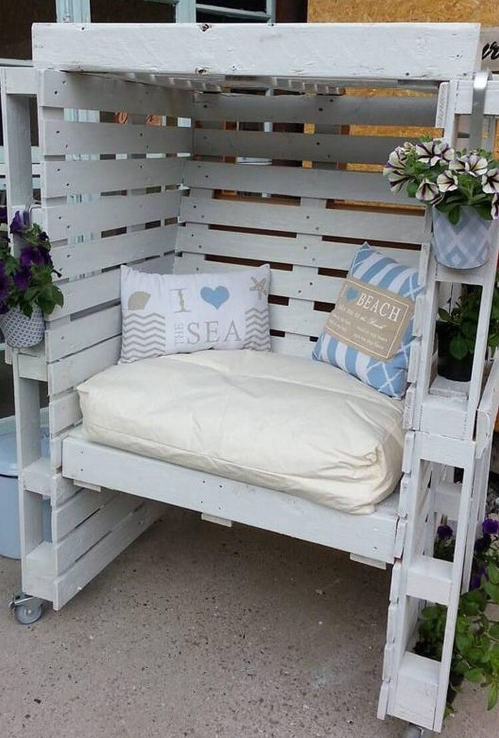 Cool 50 Fancy Diy Outdoor Pallet Furniture Ideas Pallet