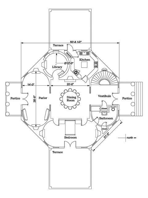 Octagon Mansion Floor Plan Joy Studio Design Gallery Best Design Floor Plans Mansion Floor Plan Octagon House