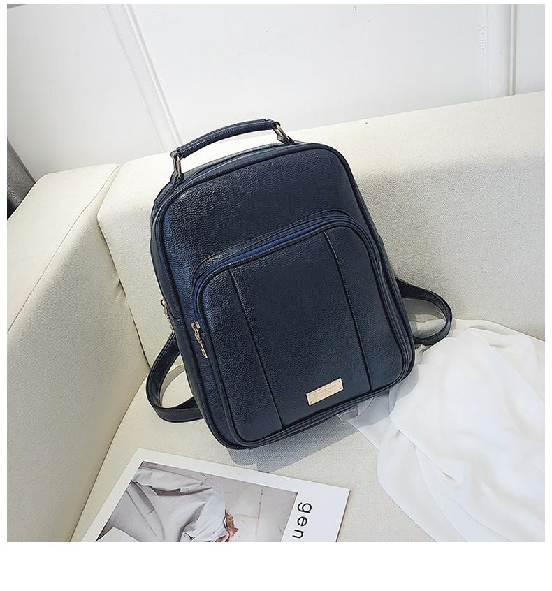 Photo of US $18.04 41% OFF Vintage female leather backpack women's PU bag School Bags For Teenage Girls Travel Back Pack Shoulder Bag Mochila Mujer XA8K Backpacks    – AliExpress