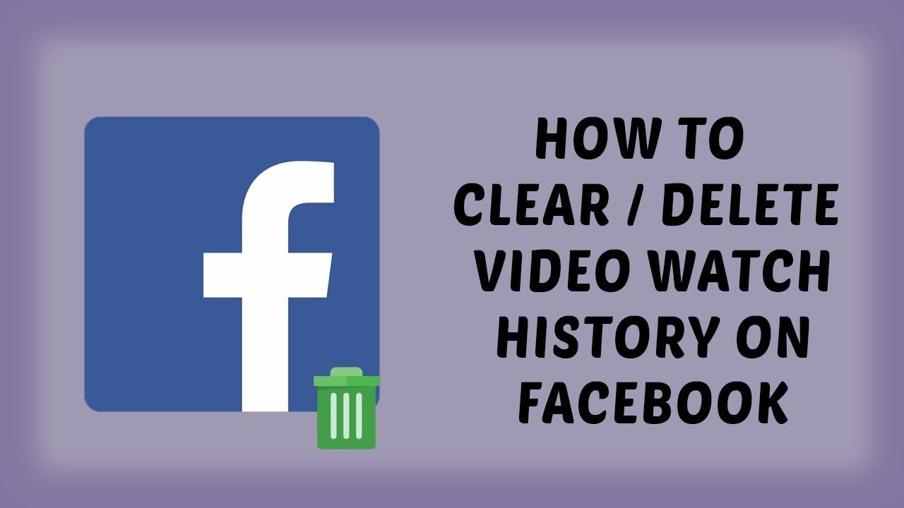 How To Clear Delete Video Watch History On Facebook Facebook Tutorials In Hindi Drtechnology Drtechnology Tutorial Facebook Video