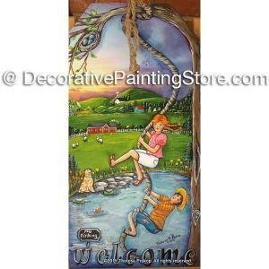 Summertime Rope Swing Kids ePacket - Theresa Prokop - PDF DOWNLOAD