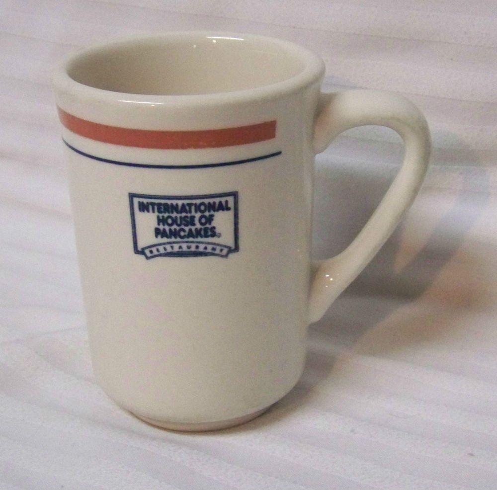 Ihop International House Of Pancakes Mug Coffee Cup 8 Oz Buffalo Advertising