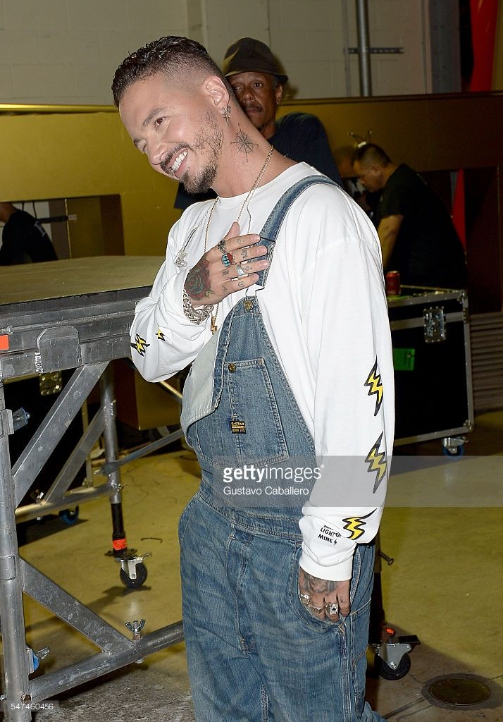 9115e9ce9bb J Balvin attends the Univision s 13th Edition Of Premios Juventud Youth  Awards at Bank United Center on July 14