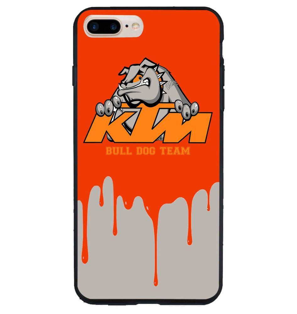 114161d9e New KTM Racing BullDog Team Cover Print On Case for iPhone 6 6Plus 7 7Plus  #UnbrandedGeneric