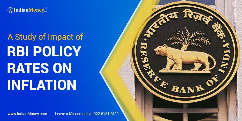 A Study Of Impact Of Rbi Policy Rates On Inflation In 2020 Study Policies Monetary Policy