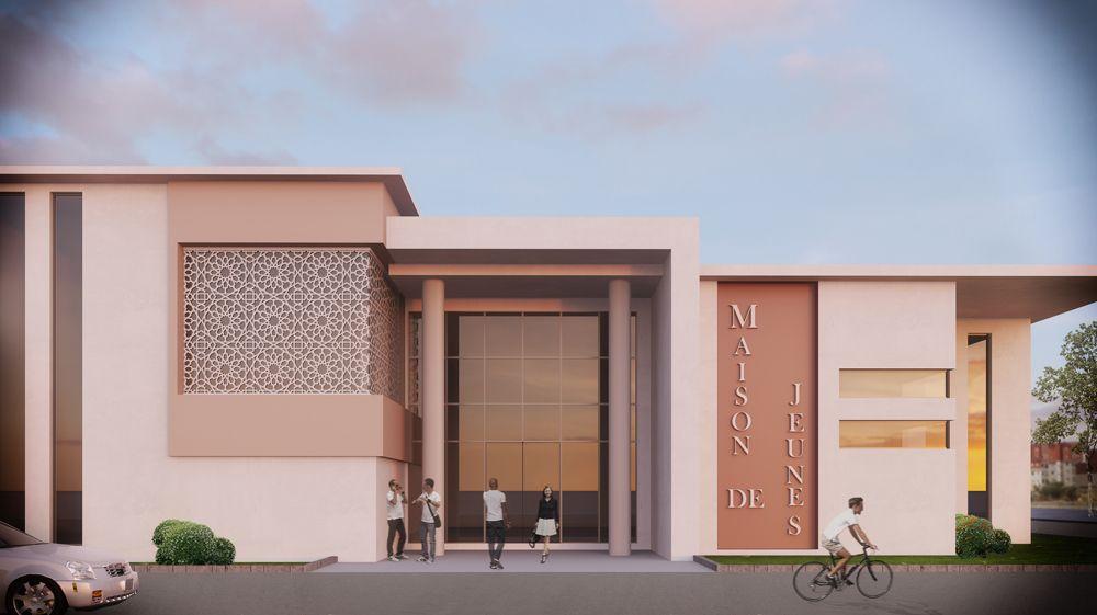 centre de diagnostique 3d architecture extérieur Pinterest