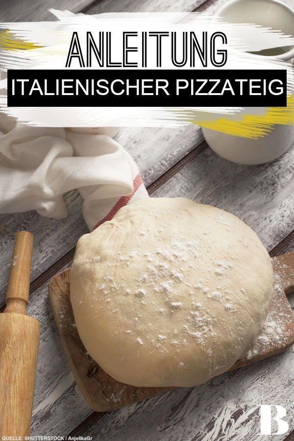 Italienischer Pizzateig Italienischer Pizzateig Für diesen klassischen Pizzateig braucht es Ruhe und Geduld 2 Tage muss der Teig mit frischer Hefe ruhen bevor ihr da...