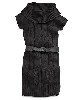 Pink Republic Girls' Cowl-Neck Sweater Dress | girls clothing ...