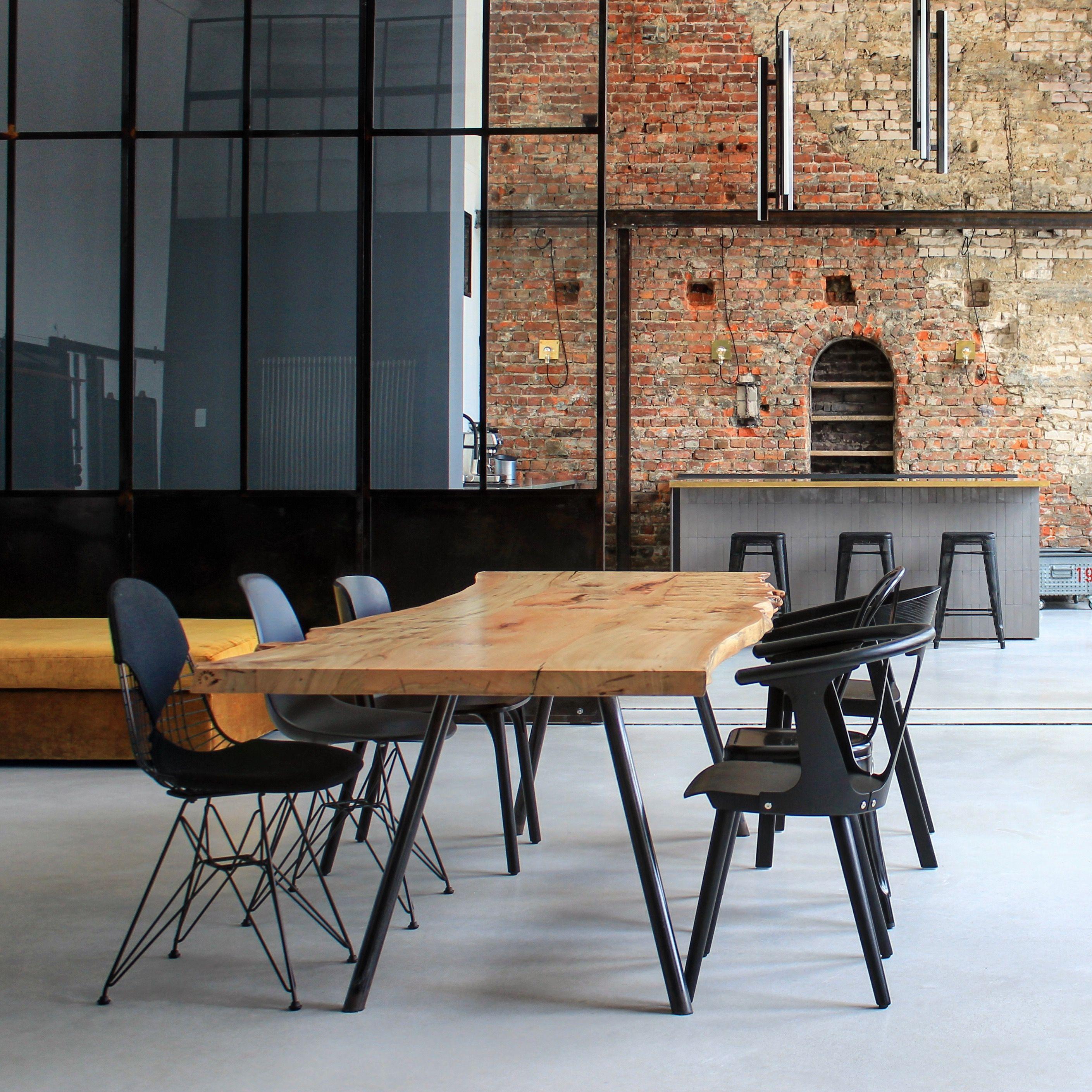 Massivholztisch Esstisch Holztisch Table Dinningtable Interior Loft ...