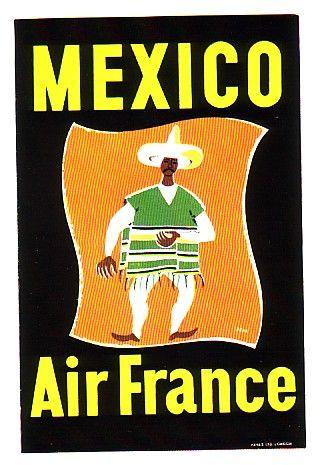 Air France Mexico ad