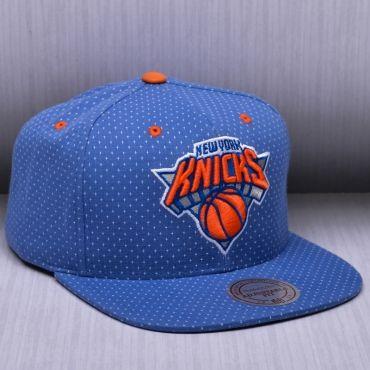 quality design a3a65 949da Mitchell   Ness NBA New York Knicks Dotted Cotton Snapback Kepurė