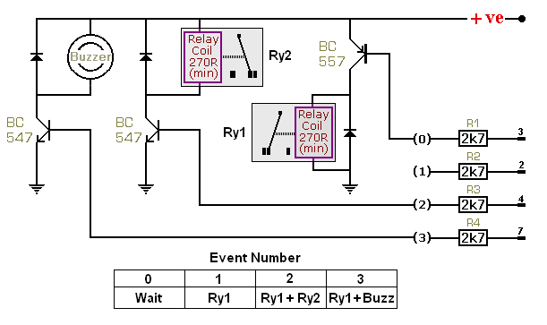 pnp transistor switches circuit