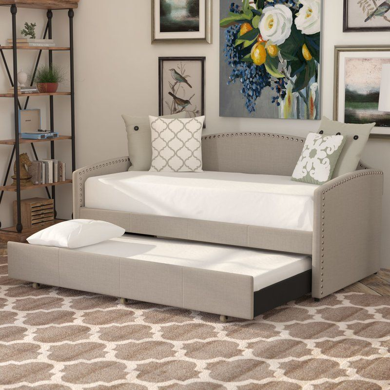 Ronce Twin Daybed Daybed with trundle, Twin daybed with