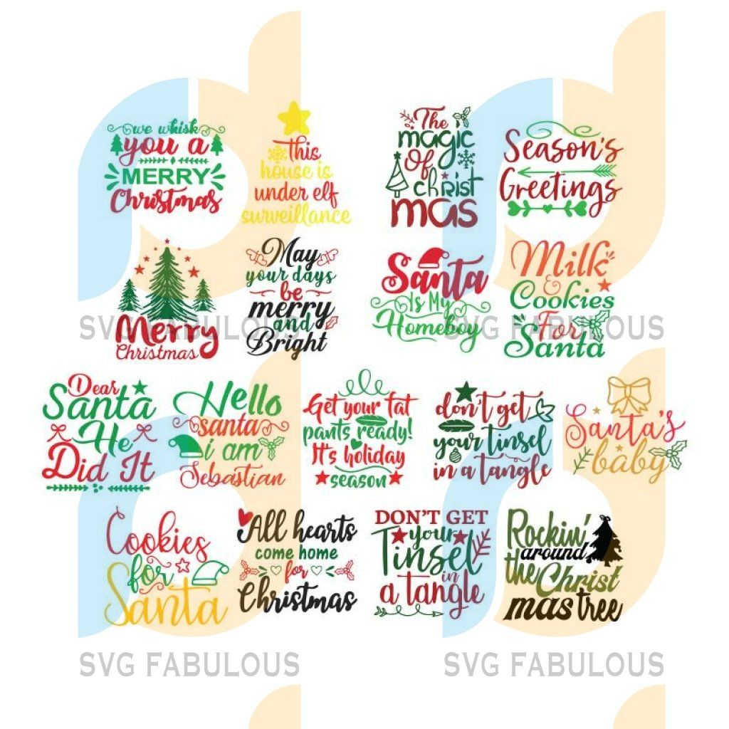 Pin On Hot Trend Christmas Svg