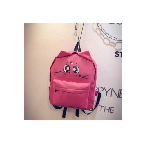 2ad6a127d9 Six senses women shoulder bag cat ear canvas cute school bags backpacks  teenage girls mochila feminina Travel Pack