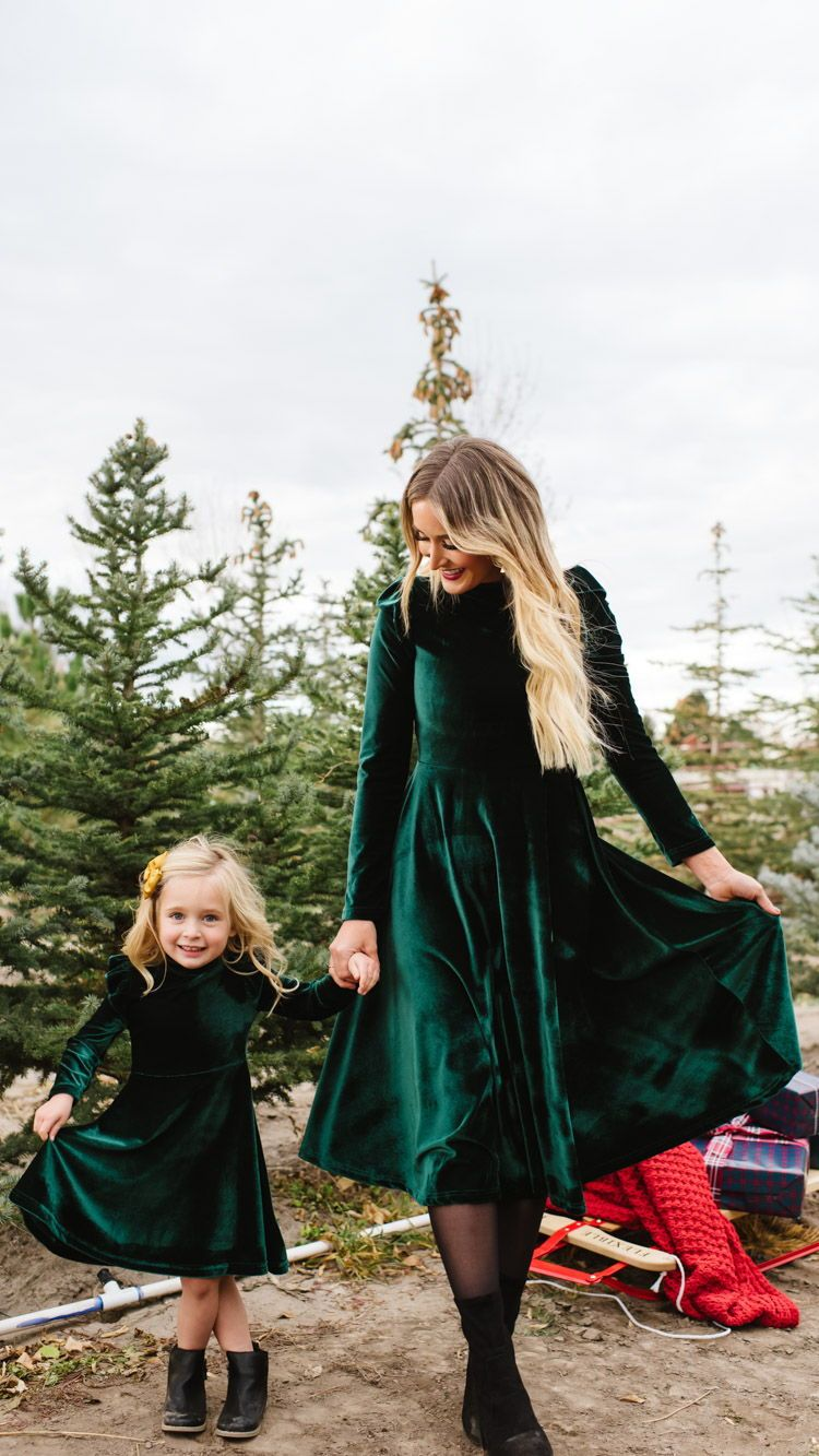 26+ Mommy and me christmas dresses ideas info