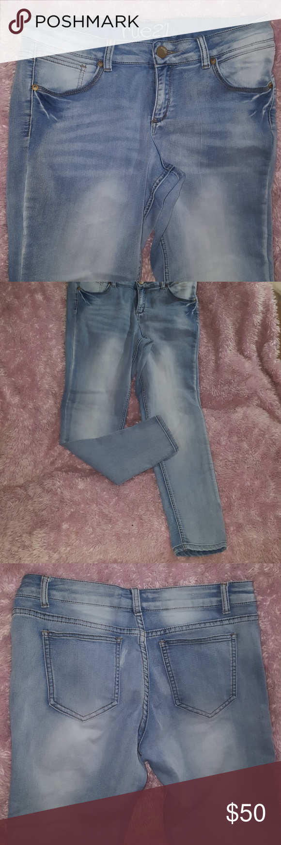 Rue21 Rue 21 Freedom Flex Light Wash Jegging New Jeggings Womens Jeans Skinny Clothes Design
