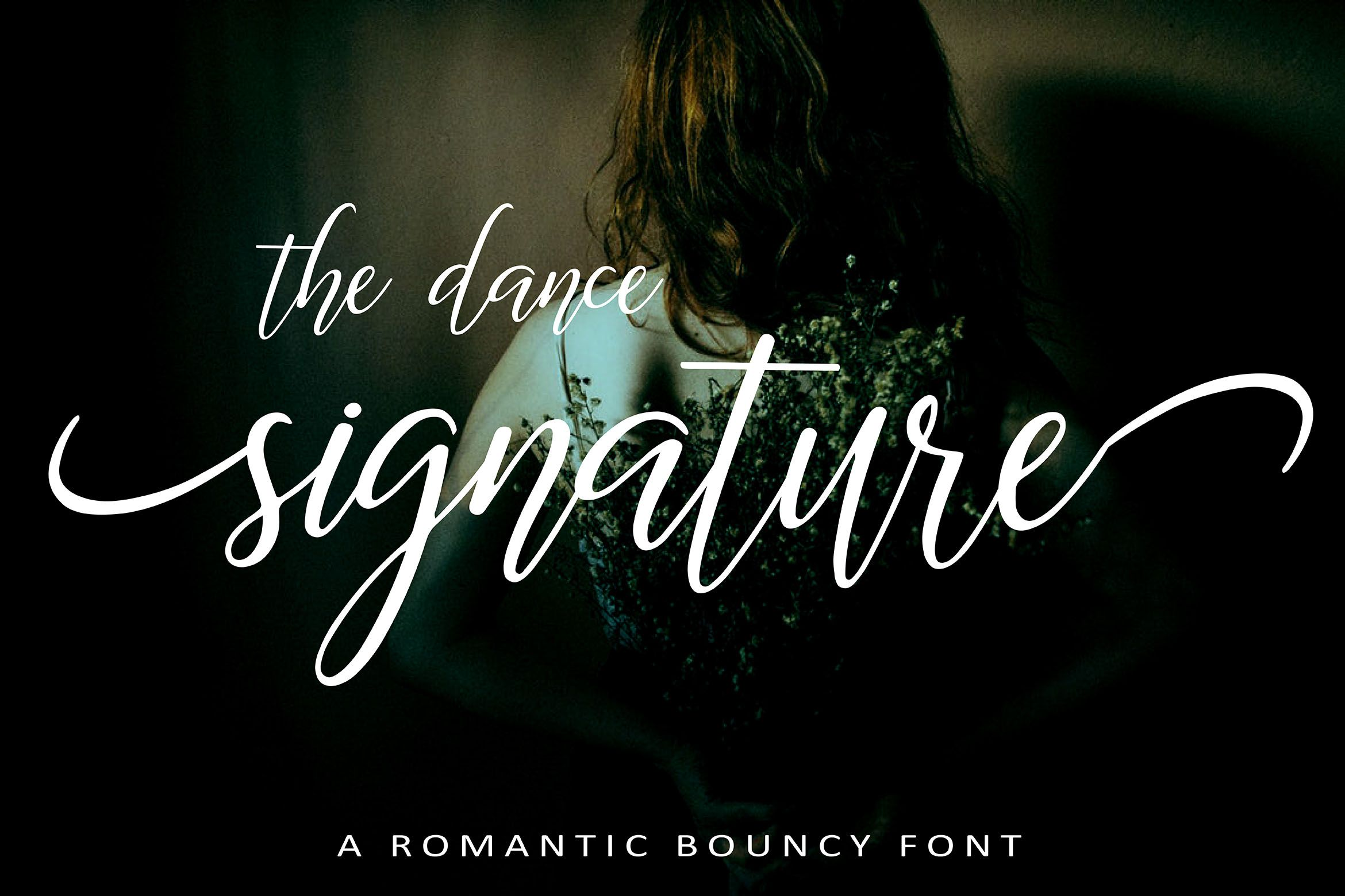 The Dance Signature (Font) by aminmario Signature fonts