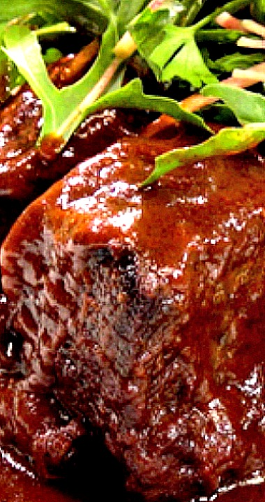 Braised Short Ribs With Ancho Bbq Sauce Recipe Braised Short Ribs Short Ribs Mexican Food Recipes