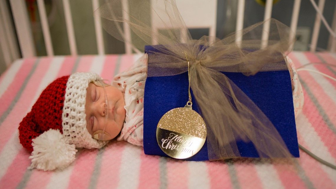 The tiniest babies celebrate the holidays at Children's