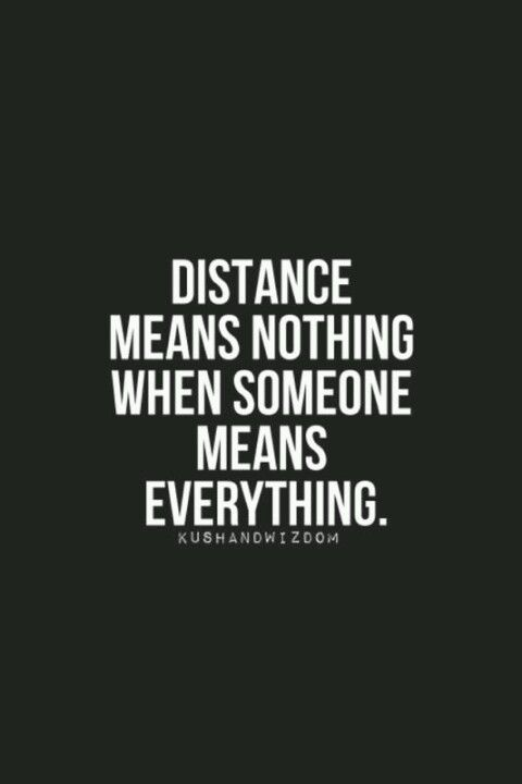 but distance and silence are two different things quotes