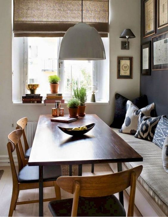30+ Wonderful Dining Room Decor Ideas With Farmhouse Style images